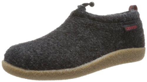 Giesswein Vent - Pantofole Unisex Adulto, Grigio (Anthrazit) Grigio (Anthrazit 029)
