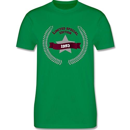Shirtracer Geburtstag - 1993 Limited Special Edition - Herren T-Shirt Rundhals Grün