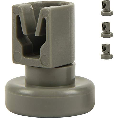 McFilter Oberkorb-Rollen für Geschirrspüler (4 Stück), Korbrollen für Spülmaschine geeignet für von AEG Favorit, Privileg, Zanussi, uvm.