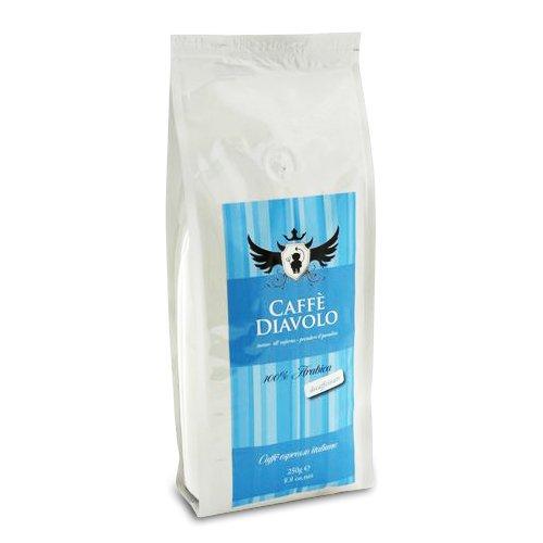 Caffé Diavolo - decaffeinato - 250 Gramm, Bohne