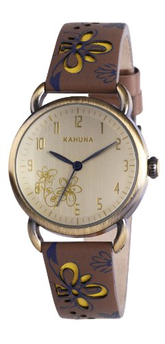 kahuna-kls-0248l-reloj-analogico-de-cuarzo-para-mujer-con-correa-de-piel-color-marron