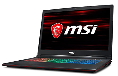 MSI GP73 Leopard 8RE-062UK 17.3-Inch Gaming Laptop - (Black) (Intel i7 8750H, 16 GB RAM, 1 TB HDD Plus 128 GB SSD, NVIDIA GeForce GTX 1060 Graphics, Windows 10 Home)