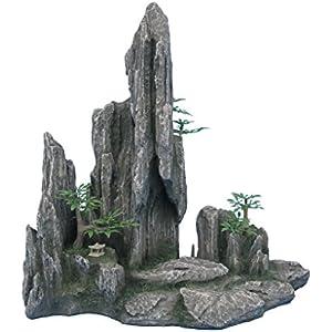 Haquoss Wild Mountain 8, 28.5x 16.5x 28.5H cm
