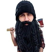 Beard Head Berretto Barba – Boscaiolo Barbaro - Cappello Divertenti con  Barba Finta 066852dd27ff