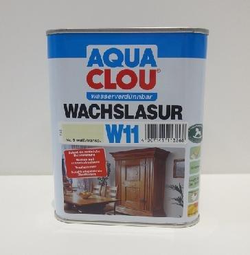Clou Wachslasur W11 weiß 0,750 L