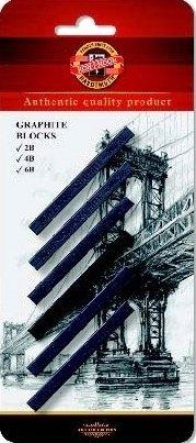 robart-6x-blocchi-di-grafite-2b-4b-6b