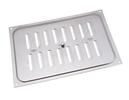 Aluminium Glücksache Louvre ventilation Deckel 9 x 6 Zoll (Packung mit 10)