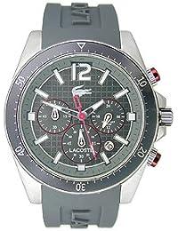 Lacoste Herren-Armbanduhr Analog Quarz Silikon 2010710