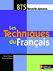 TECHNIQUES FRANCAIS BTS ELEVE