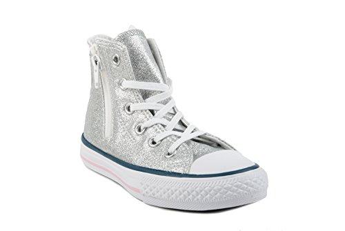 Converse Chuck Taylor Hi Side Zip Canvas mädchen, glattleder, sneaker high, 30 EU