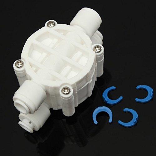 Wasser-umkehr-osmose-system (Yongse 1/4 Zoll 4 Wege Auto Shut Off Ventil für RO Umkehr Osmose Wasser Filter System)