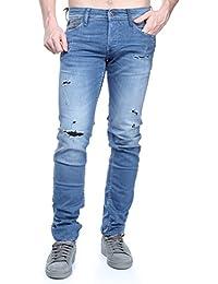 Jogg Jeans Le Temps Des Cerises JH711BASWC617 Azul