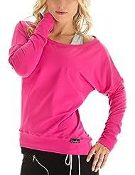 Winshape WS2 Tee-shirt à manches longues pour femme Pour loisirs, sport et danse S Rose - rose bonbon