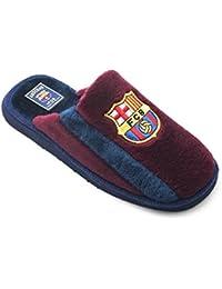 Zapatillas FC Barcelona de Casa Granate Banda Azul - Nº 43