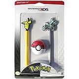 Power A - Juego de lápices para pantalla táctil de Nintendo DS (2 unidades), diseño de Pokémon