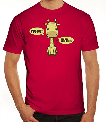 Lustiges Herren T-Shirt mit MooRaffe Motiv von ShirtStreet Sorbet