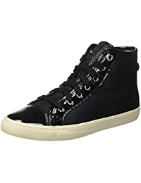 Geox Damen D New Club E Hohe Sneakers