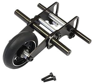 Kyosho K.MAW020 - Rueda de Wheeling, Color Negro y Plateado