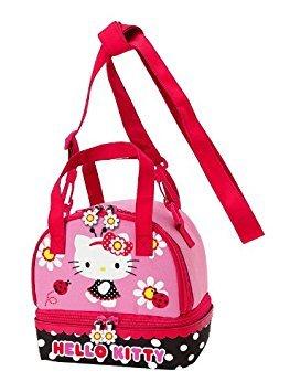 Hello Kitty Lunch Bag: Ladybug by Hello Kitty (Kitty Snacks Hello)
