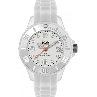 Ice-Watch - ICE forever White - Montre blanche pour garçon (mixte) avec bracelet en silicone - 000790 (Extra Small)