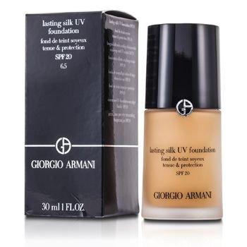 Giorgio Armani Lasting Silk UV Foundation SPF 20 - # 6.5 Tawny 30ml
