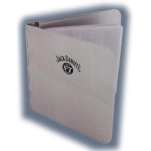 Jack Daniels In Metallo Spazzolato–Porta CD 10