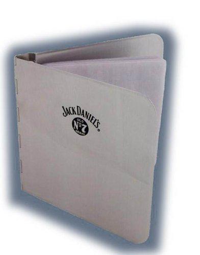 Jack Daniels In Metallo Spazzolato-Porta CD 10
