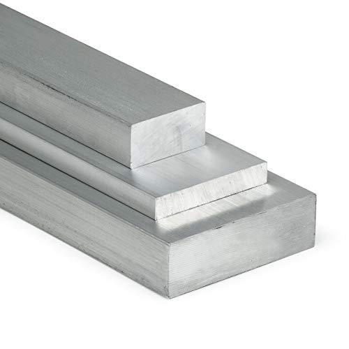 Aluminium Flachstange AlCuMgPb 60x10mm - Länge 1000mm / 100cm auf Zuschnitt