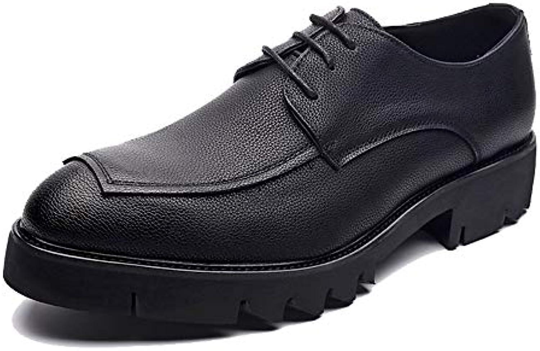 Jiuyue-scarpe, 2018 Scarpe Oxford da Uomo, Scarpe da Joker Impermeabili Impermeabili Impermeabili Casual con Lacci e Suola Comfort Comfort... | In Uso Durevole  32706f