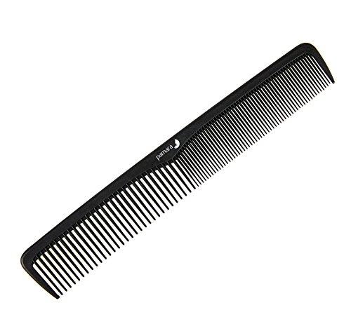 ium | Bruchfester Kamm für Haare und Bart | 18 cm | Antistatischer Bartkamm und Haarkamm für jedes Haar (Dünne Haare Bart)