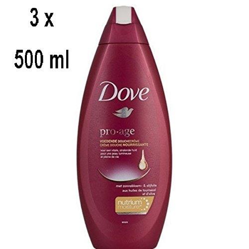 "DOVE Women Duschgel \""Pro-Age\"" - 3er - Pack (3 x 500 ml)"