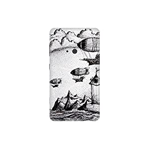 The Racoon Lean Pirates of The Black Rock hard plastic printed back case / cover for Nokia Lumia 625