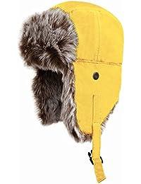 Result Fliegermütze mit Plüschfutter SONDERPREIS Yellow,L
