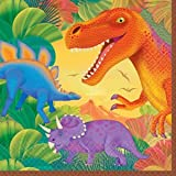 Dinosaur Party Napkins (Supplies 16)
