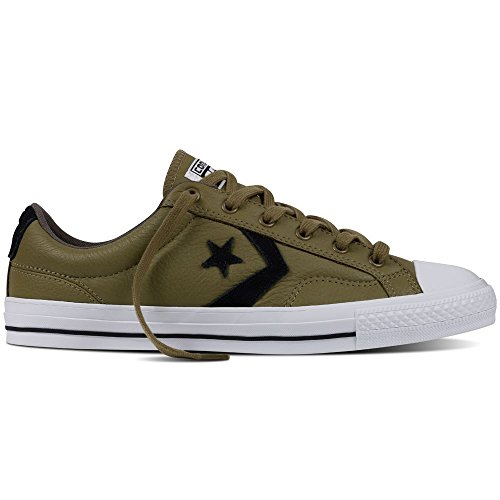 Converse Mens Star Player Leather Ox Leather Trainers Jute