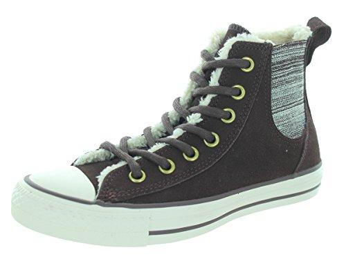 Converse Chuck Taylor All Star High chel Mare Sneaker donna marrone / bianco