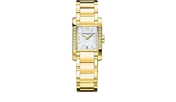 co uk Mercier Wristwatch Baumeamp; 22mm M0a08698Amazon ModDiamant shrdtQ