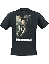 The Walking Dead Daryl Hunter Camiseta Negro XXL