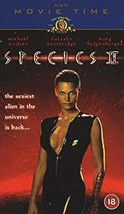 Species 2 Vhs Michael Madsen Natasha Henstridge Marg