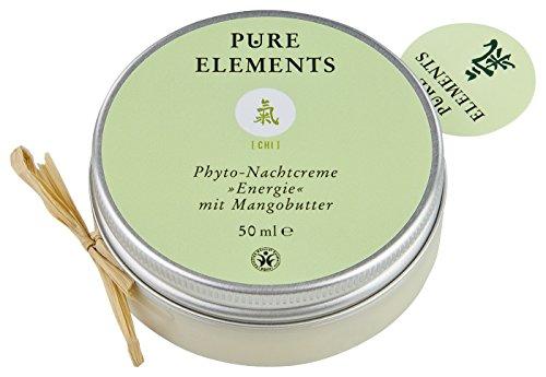 Pure Elements Naturkosmetik Chi Nachtcreme Energie mit Mangobutter 50 ml