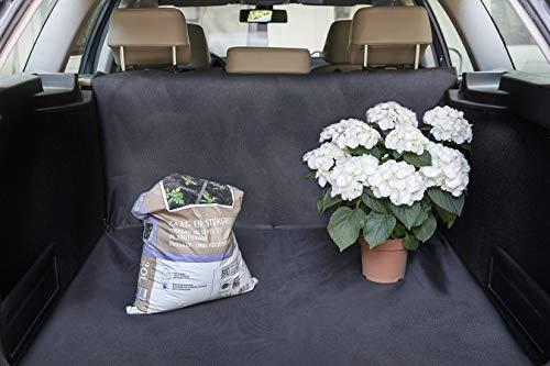 TECHNOSMART Coprisedile universale per cani, Telo auto per sedili e bagagliaio, Tessuto idrorepellente, Protegge dallo sporco, 145 x 145 cm