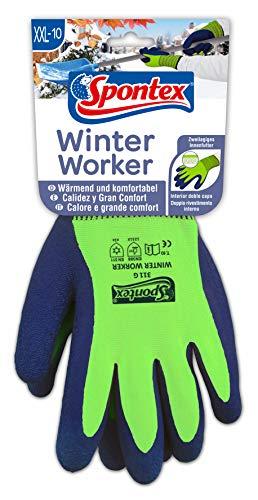 Spontex Winter Worker, 1 Paar Gr.XXL -Arbeitshandschuh mit Fütterung & ()