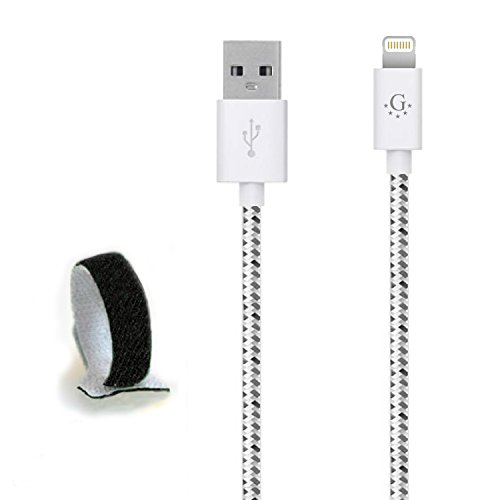 Die # 1 spezifische Nylon geflochten Go Beyond (TM) 10 Feet 8 pin iPhone 5/6 6S USB-Synchronisations-/Ladekabel für iPhone 6S/6S Plus, iPhone 6/6 Plus, iPhone 5/5S/5 C, iPad Mini, iPod Touch 5. Generation (Versand in Selben Tag, kompatibel mit neuen IOS) (Moto Tracfone G Motorola Für)