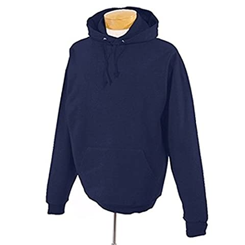 Gildan Hooded Sweatshirt Heavy Blend Plain Hoodie Pullover Hoody Navy L