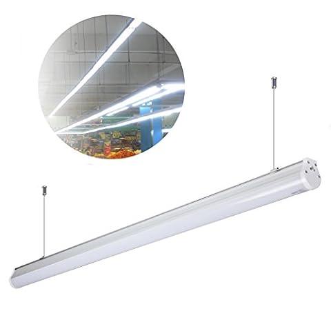 3 x Réglette LED Suspension Anten® 20W Tube Néon LED 60cm Fluorescent LED Lumière Blanc Froid 6000-6500K SMD 2835 Economie d