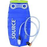 Source Wasserbehälter Widepac Trinkblase, transparent/Blau, 3 Liter