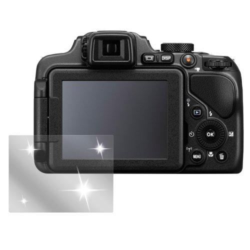 dipos I 6X Schutzfolie klar passend für Nikon Coolpix P600 Folie Displayschutzfolie (Nikon P600 Kamera)