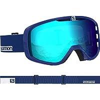 Salomon Unisex Aksium Skibrille, geeignet für Brillenträger, Airflow System