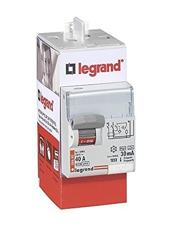 Legrand LEG92828 Interrupteur Différentiel BIP 40A 30 MA Type