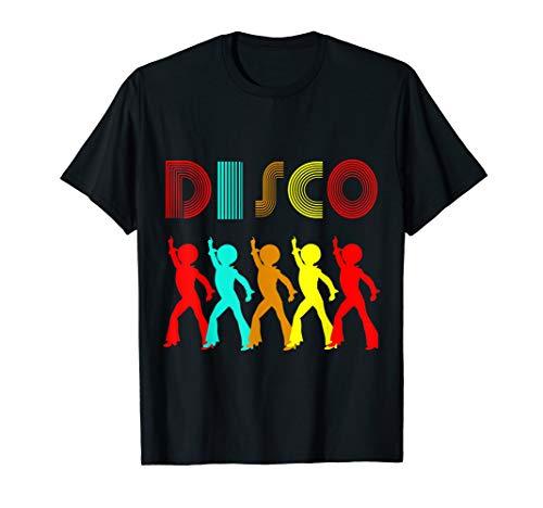Kostüm Disco Besten - Disco King 70er Jahre Vintage Dance Party Geschenk T-Shirt